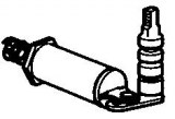 Axe de réglage PSA BX ZX 405