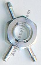 Banjo à oeil exagonal 24