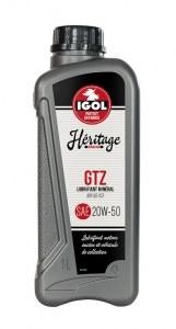 Lubrifiant minéral IGOL 20W50 HERITAGE GTZ