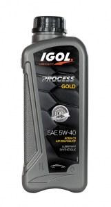 Huile moteur 5W-40 IGOL Process GOLD 5L