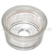 Tasse de filtre en verre diam 25mm