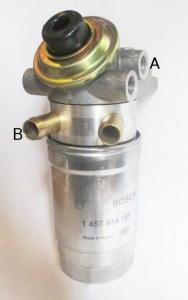 Filtre Complet BOSCH 14mm + réchauffeur